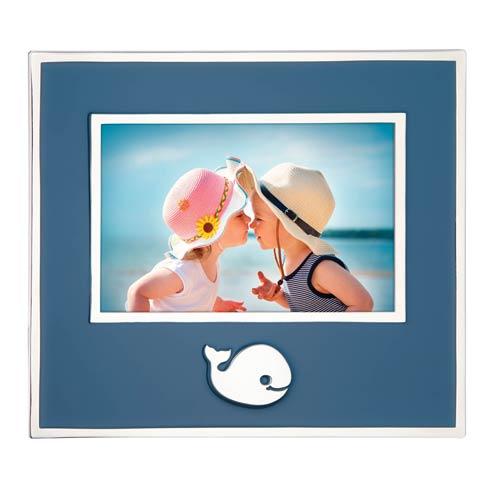 $45.00 Whale 4X6 Frame Blue