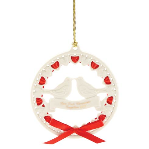 $19.95 2019 Our 1st Christmas Together Dove Ornament