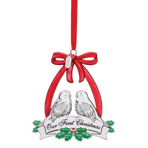 $19.95 2019 Our 1st Christmas Doves Ornament