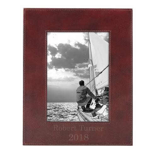 $80.00 Personalizable Leather Frame 5X7