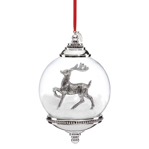 $40.00 Reindeer Snowglobe Ornament