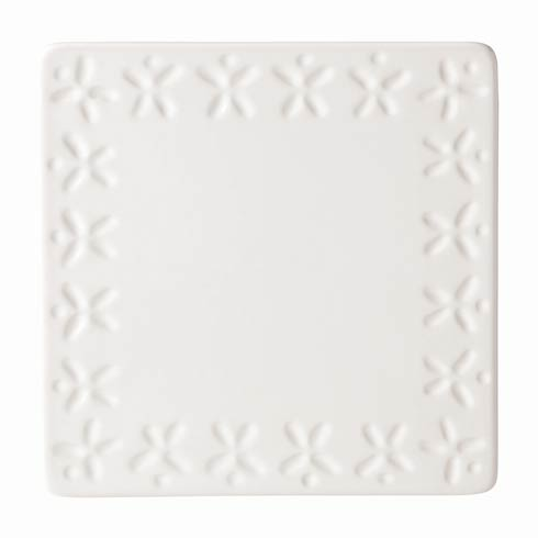 Kate Spade Willow Drive Cream Trivet $12.00