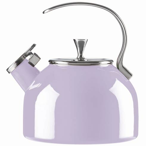 $60.00 Metal Lilac Kettle