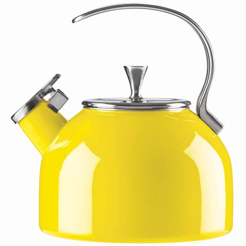 $60.00 Metal Yellow Kettle