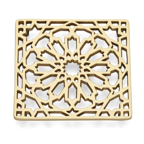 Lenox Global Tapestry Gold Moroccan Trivet $19.95