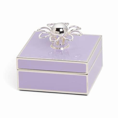 $50.00 Silver Jewelry Box, Lilac