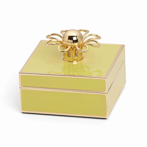 $50.00 Gold Jewelry Box, Yellow