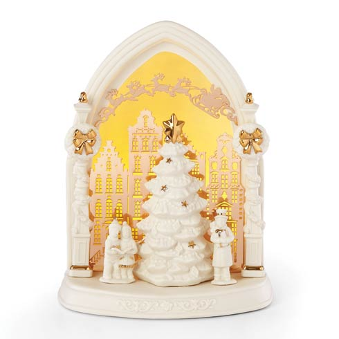 $69.95 Light-Up Town Square Scene