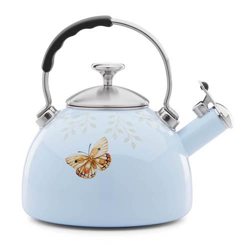$49.95 Enamel Tea Kettle - Bl