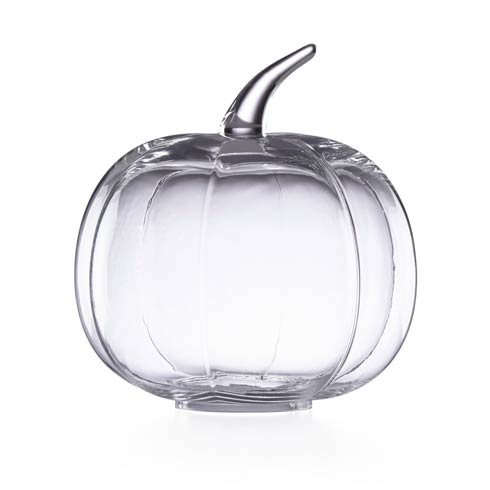 Lenox  Harvest Glass Pumpkin Medium Cloche Centerpiece $49.95