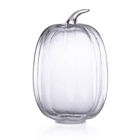 Lenox  Harvest Glass Pumpkin Large Cloche Centerpiece $54.95