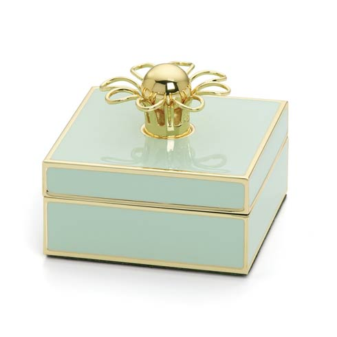$50.00 Aqua Gold Jewelry Box