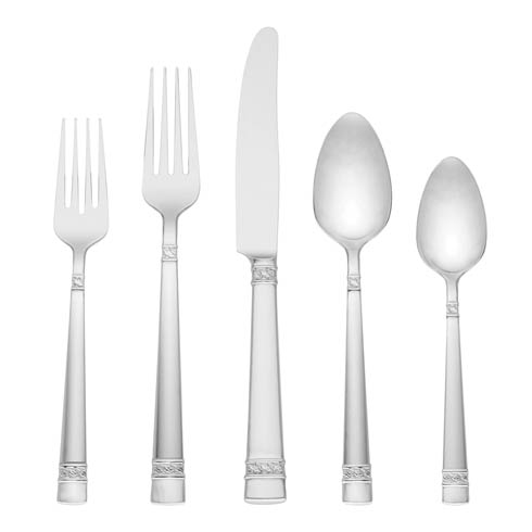 $169.95 Larchwood 65pc Flatware Set