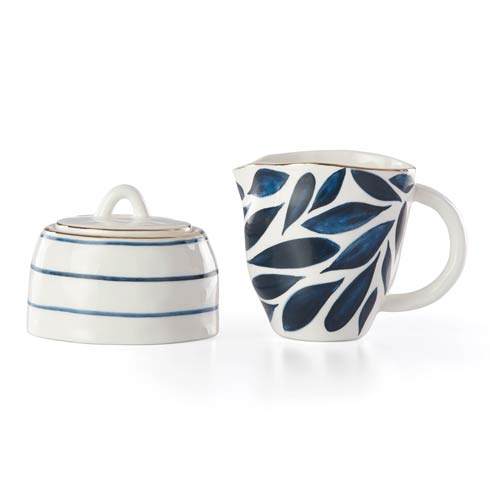 Lenox  Blue Bay Creamer & Sugar Bowl Set $58.00