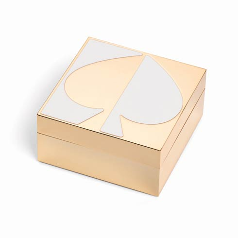 $50.00 White Keepsake Box
