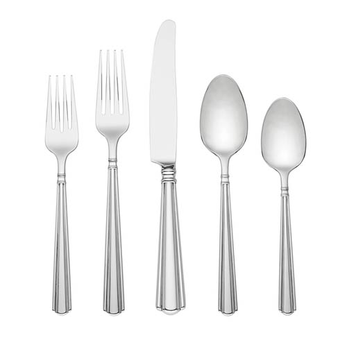 $169.95 Amber Hill 65pc Flatware Set