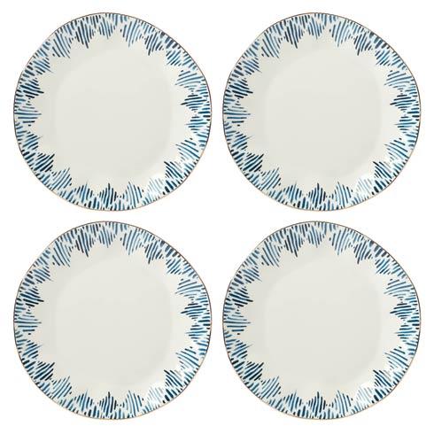 Lenox  Blue Bay 4-piece Ikat Dinner Plate Set $69.95
