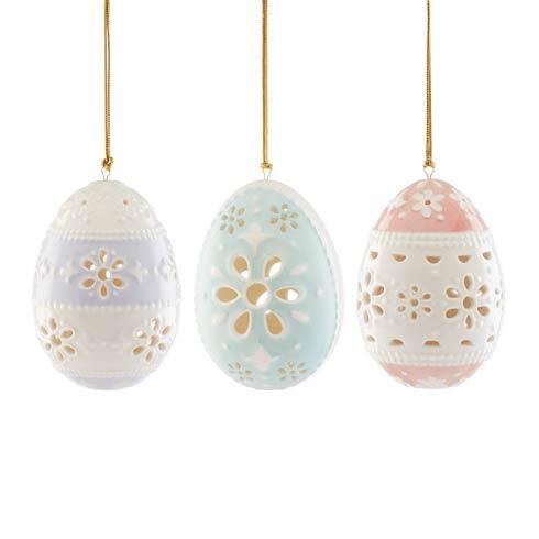 $49.95 3-piece Eyelet Ornament Set