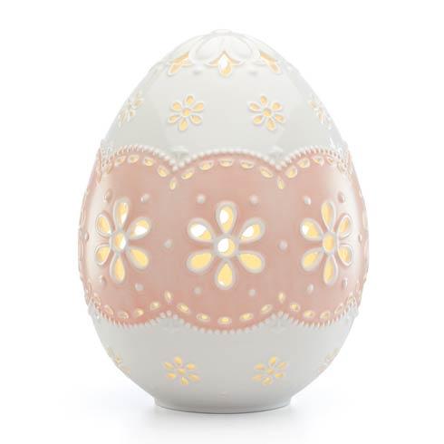 $89.95 Lighted Egg Figurine, Large