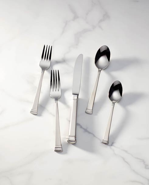 $59.95 5pc Frosted Place Set