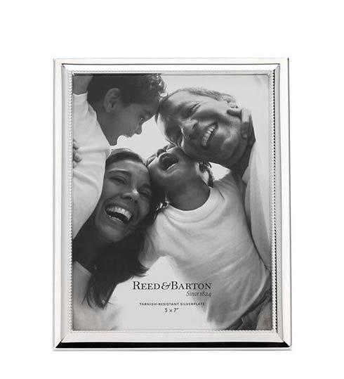 "$80.00 5 x 7"" Silverplate Picture Frame"