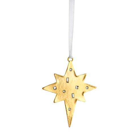 Winter Wonder Golden Star Goldplate Ornament