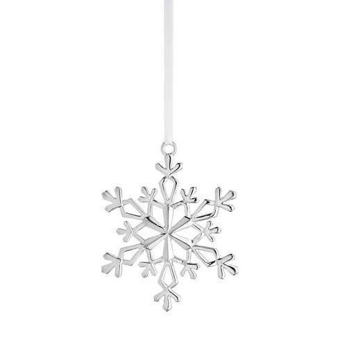 Annual Snowflake Sterling Ornament