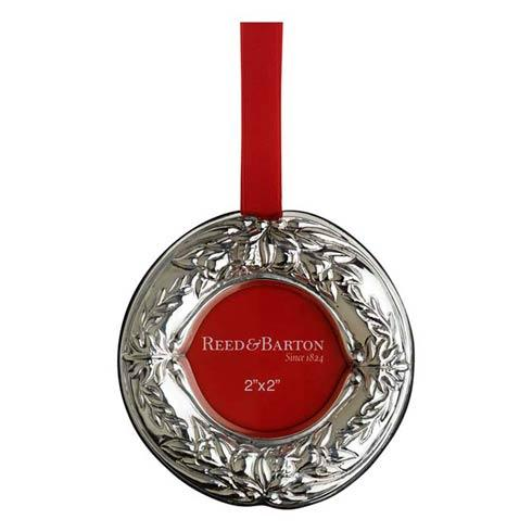 Wreath Picture Frame Sterling Silver Ornament