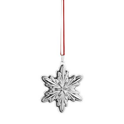 Holiday Snowflake Sterling Ornament
