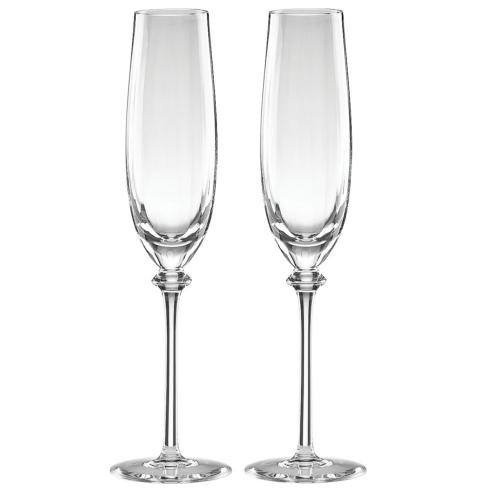 Reed & Barton  Austin 2-piece Champagne Flutes $80.00