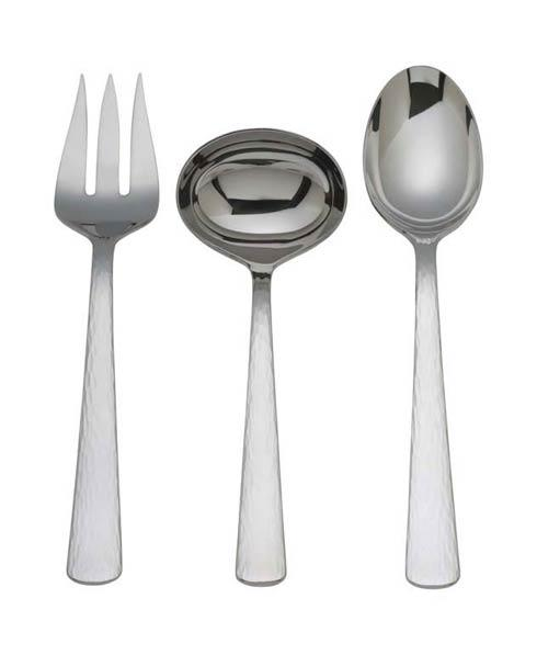 Reed & Barton  Silver Echo 3-Piece Serving Set $60.00