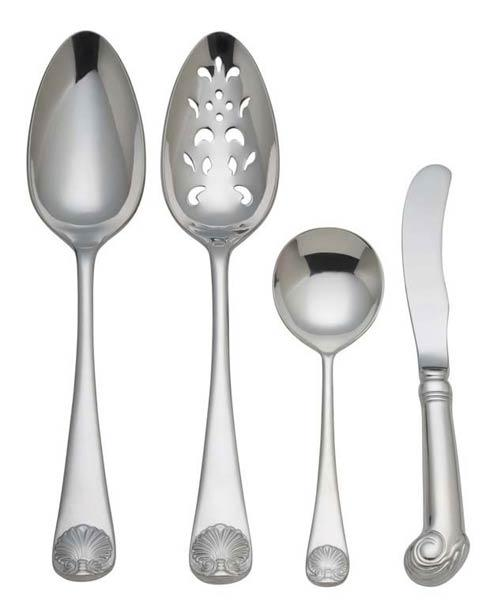 $60.00 Royal Shell 4-Piece Hostess Set