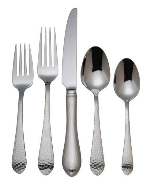 Reed & Barton  Hammered Antique 5-Piece Place Set $30.00