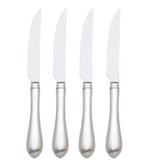 Reed & Barton  Hammered Antique Steak Knives, Set of 4 $60.00