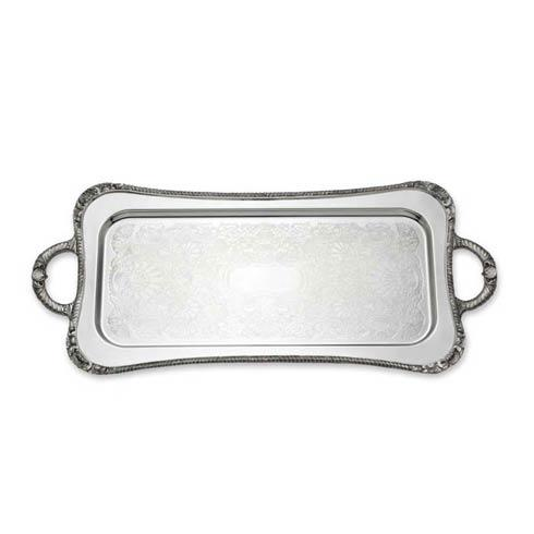 Reed & Barton  Trays Shell & Gadroon Cocktail Tray $550.00