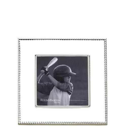 "$60.00 5 x 5"" Silverplate Frame"