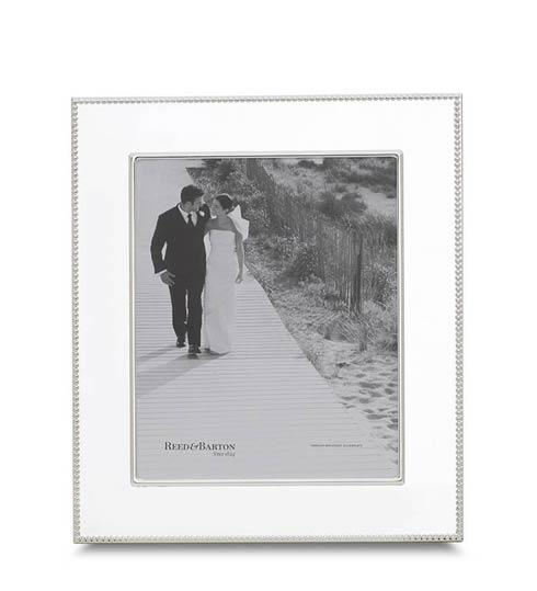 "$80.00 5 x 7"" Silverplate Frame"