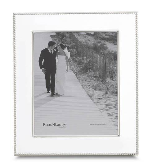"Reed & Barton  Lyndon 8 x 10"" Silverplate Frame $115.00"