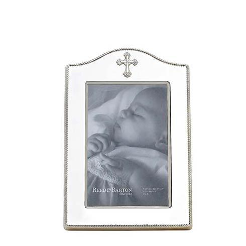 "$80.00 4 x 6"" Silverplate Frame"