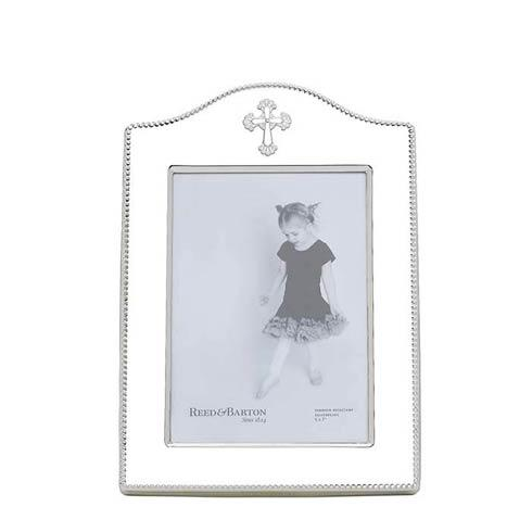 "$75.00 5 x 7"" Silverplate Frame"