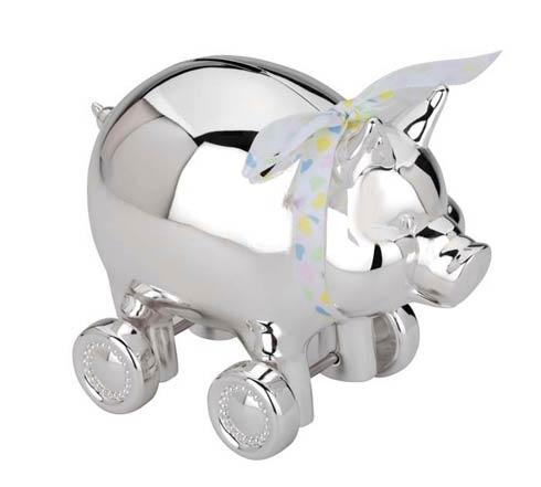 Piggy with Wheels Bank