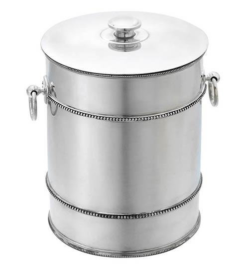 Reed & Barton  Heritage Collection Banded Bead Ice Bucket $325.00