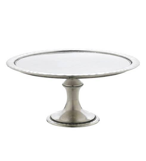 Reed & Barton  Heritage Collection Banded Bead Large Cakestand $225.00