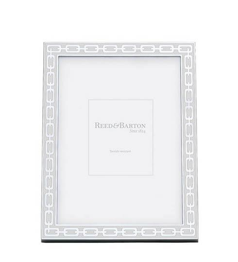 Reed & Barton  Silver Link Collection ~ Frames, clocks, letter openers and more White 5 x 7