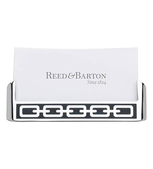 Reed & Barton  Silver Link Collection ~ Frames, clocks, letter openers and more Midnight Card Holder $25.00