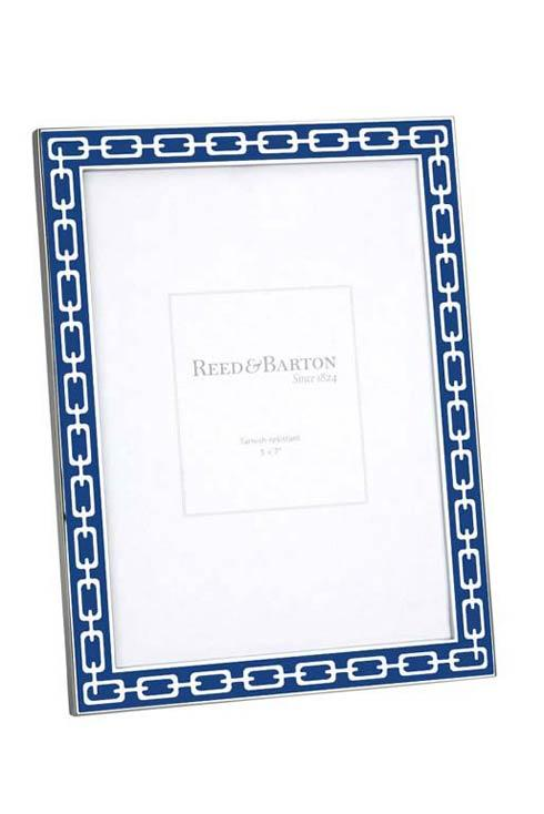 """$55.00 Navy 5 x 7""""  Picture Frame"""