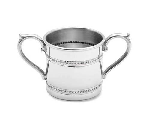 $70.00 Beads Pewter Baby Cup