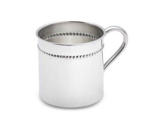 $250.00 Classic Bead Sterling Baby Cup