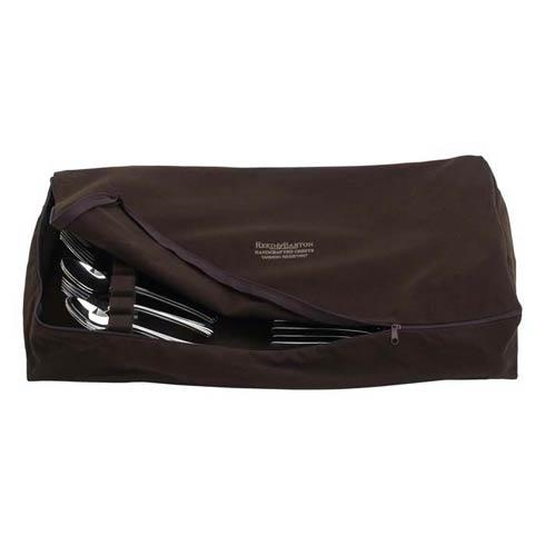 Flatware Drawer Liner Zippered - Brown
