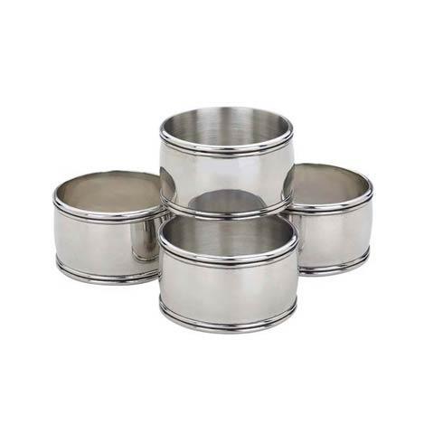 Kent Napkin Rings, Set of 4